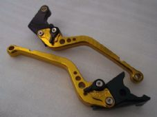 Yamaha YZFR1 (99-01), CNC levers long gold/black adjusters, F21/Y688